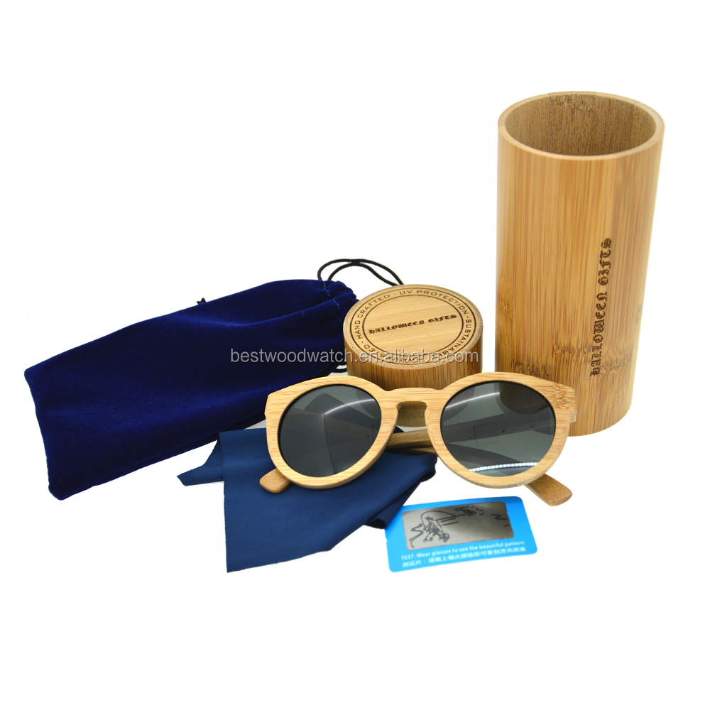 wholesale custom wholesale <strong>bamboo</strong> polarized sunglasses