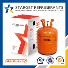 Used in commercial air conditioning 99.8% purity r404a refrigerant gas