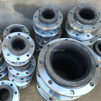 Single bellow flange rubber expansion joint