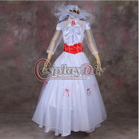 Custom-made Mary Poppins Dress Movie Cosplay Costume