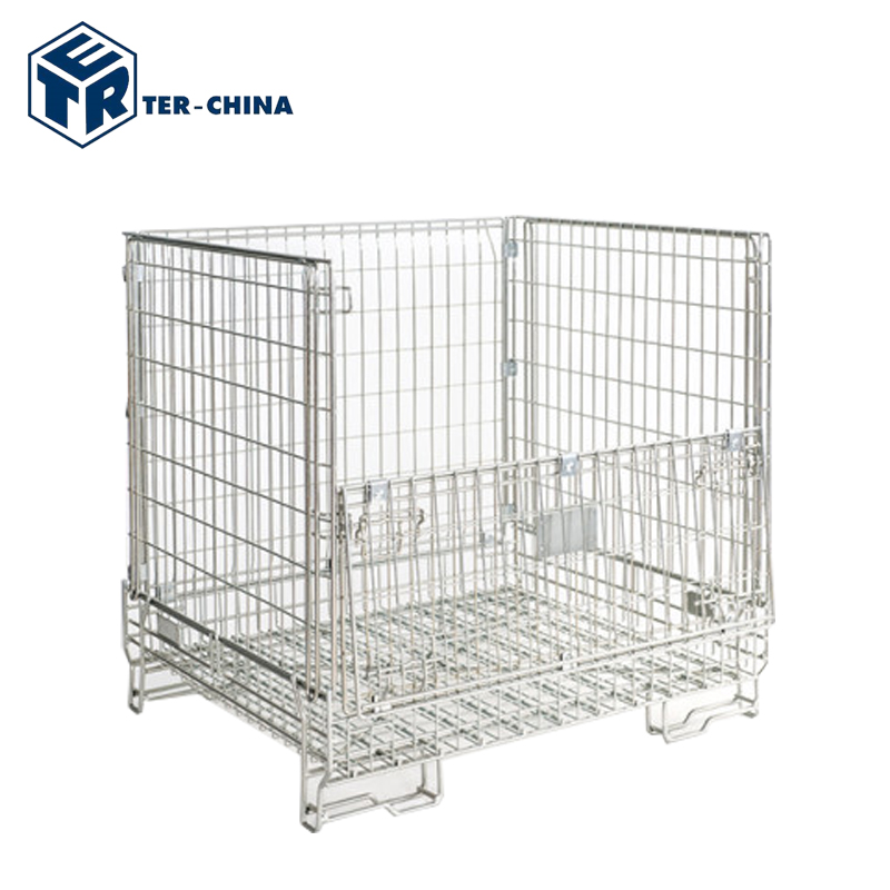 Industrial Galvanized Zinc Wire Mesh Container