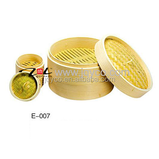 FDA standard China bamboo food steamer basket, commercial bun steamer for sale with factory price