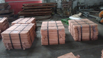 Grade A+ 99.99% Electrolytic Copper Cathodes