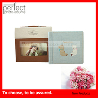 Perfect Photo Albums Baby Album Western Embossed Leather Photo Album