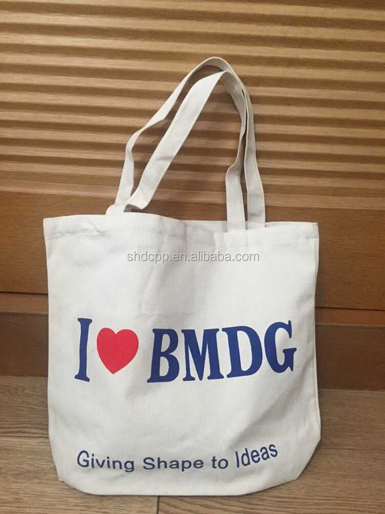 New style OEM round canvas rice bag