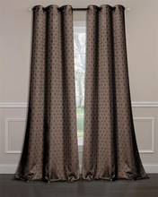 100% POLYESTER JACQUARD WINDOW CURTAIN,FLOOR-LENGTH DRAPES