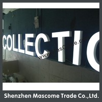 High Brightness Famous Brand Led Metal Light Box Sign Letter