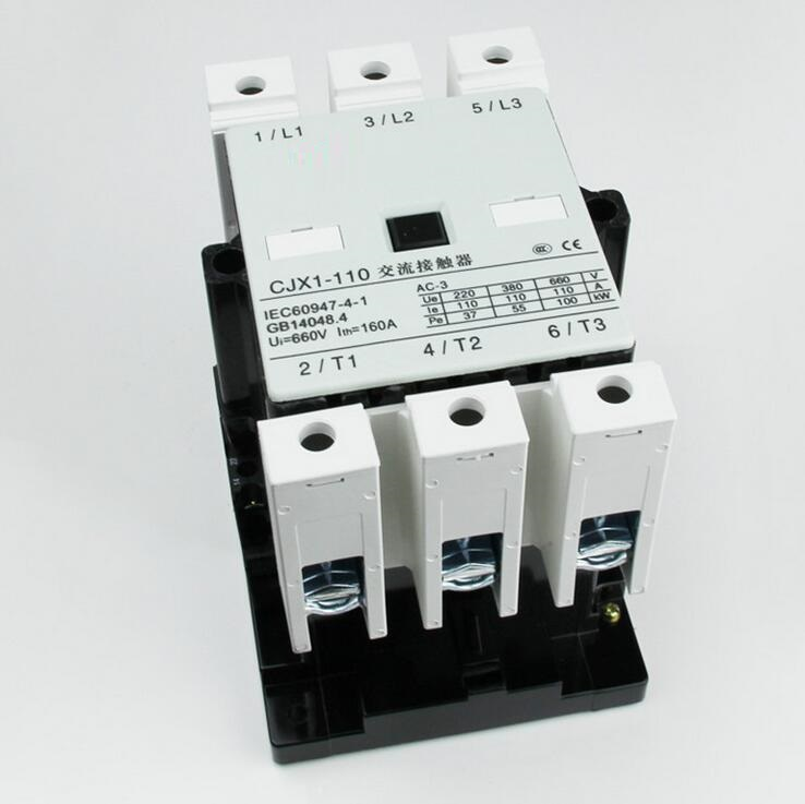 high quality CJX1-110 ac magnetic electrical contactor