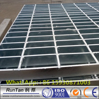 building materials serrated 30x3 galvanized steel grating