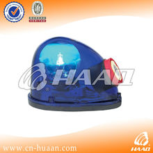 12V LTD Halogen Snail shaped Magnetic warning beacon light with siren