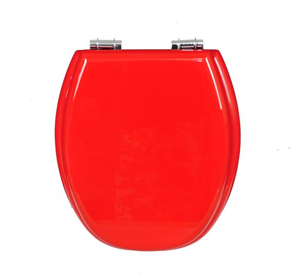 The Latest Popular Style Mdf 18 Inch Duroplast Red Plastic Toilet Seat Buy Plastic