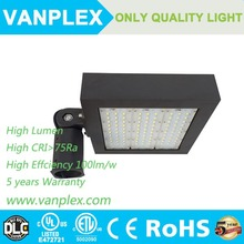 Parking Lots lamp 150w,DLC UL CR RoHS led shoebox 150w