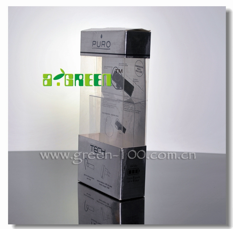 Headphone Packaging Carton/ Plastic Box for Earphone Packaging