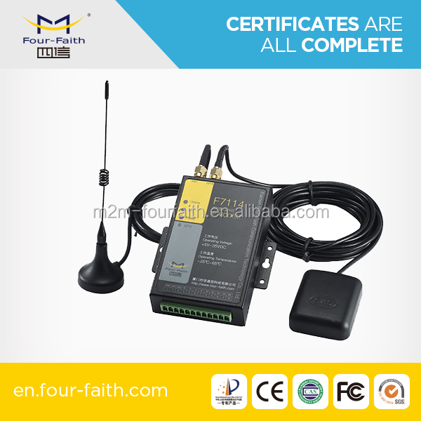 long range 3g GPS Modem with sim card slot support RS232/485 & RJ45 F7414 for telemetry application