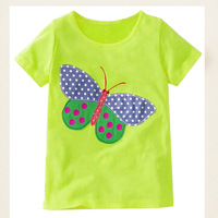 Breathable and thin 100 cotton custom cartoon print childrens t shirt t-shirts models kids
