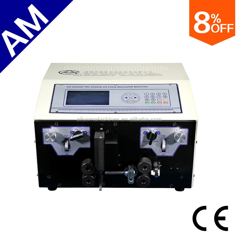 AM606 Flat Jacket Cable Stripping machine, 20P cable jacketed insulation stripping machine