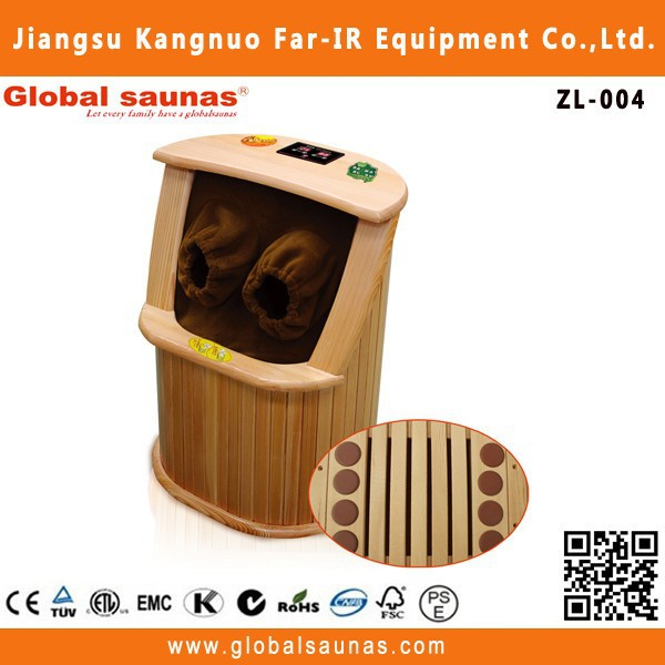 infrared far wood pallet detox foot patch sauna