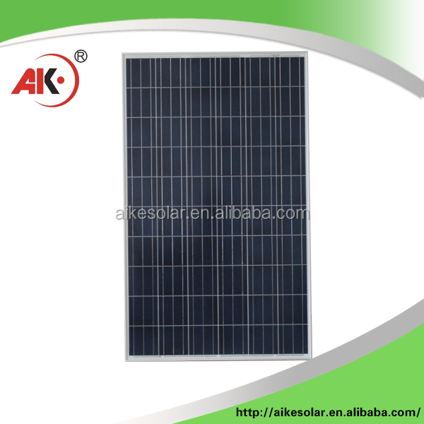 High quality 250W polycrytalline silicon solar panels solar PV module solar system cell factory price