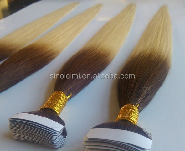 wholesale tape hair extension Skin weft indian remy hair 100% brazilian human hair extension Pu skin weft