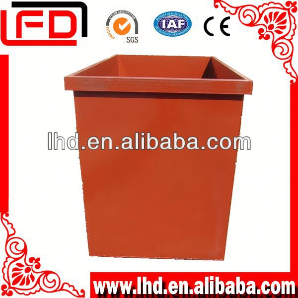 steel outdoor recycle Bin tipper for storing material or waster