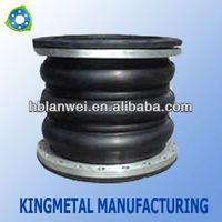 Three ball flanged rubber expansion joints
