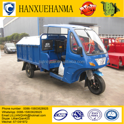 trike Chopper Three Wheel Motorcycle /heavy Duty Truck/Tipper Truck Capacity Garbage Tricycle