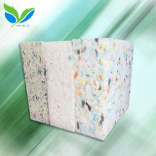 High resilience recycled polyurethane rebonded foam sponge