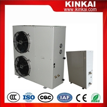 High COP 4.2 in low temperature Split type evi air to water heat pump