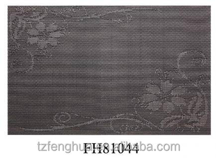 wholesale customized pvc placemat,for dinning table,home &restaurant,professional manufacture