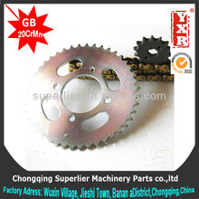 good performance ex5 motorcycle sprocket,professional custom parts for chinese scooter,forging sprockets and chain wheel