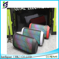 2015 New Hot colorful X2 LED Bluetooth Speaker with led lights support TF card and U-Disk
