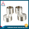 Brass BSPP F/F Female T-Shape 2 Way Equal Joint Pipe Fitting Connector