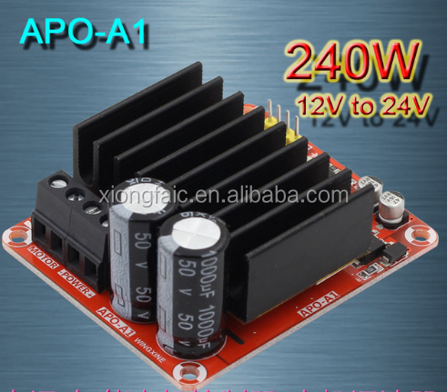 APO-A1 three function DC brush motor +PWM controller + power + governor 240W12V24V