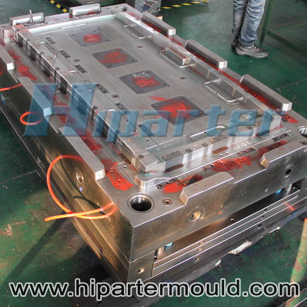 Car refrigerator plastic injection part and custom made refrigerator freezer plastic mould