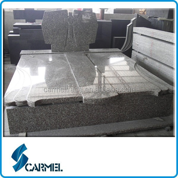 European Style G664 Double Granite Monument