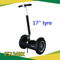 Safe model 17inch Cheap Hand hold electric golf cart scooter 2 wheel balancing Vehicle