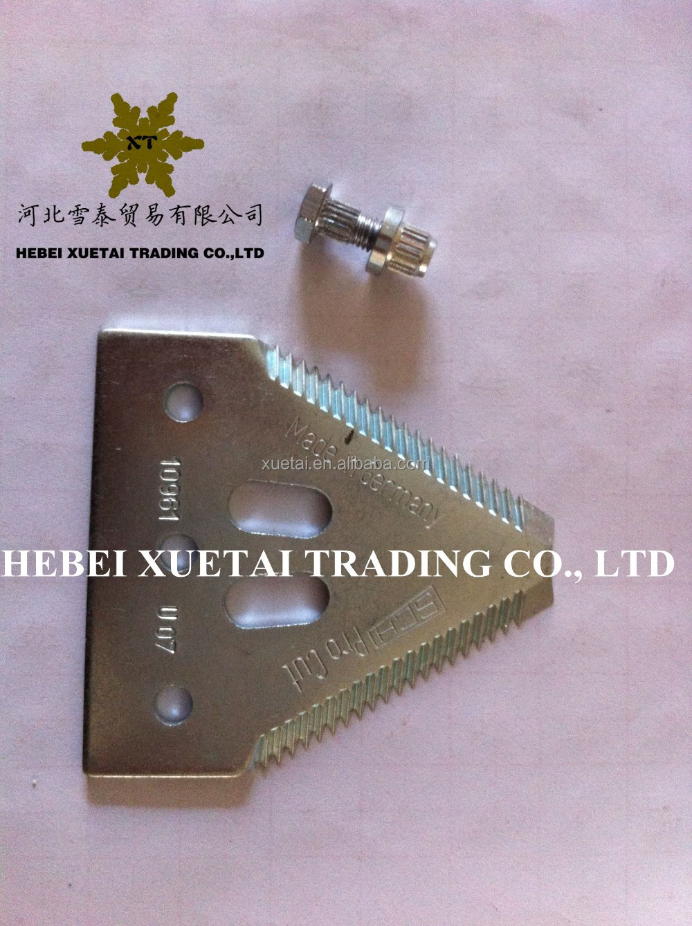 Grain head cutter bar knife OEM:420100046