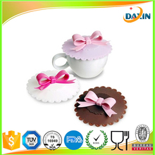 Dongguan Cheap Cute Anti-dust Silicone Glass Cup Cover Coffee Mug Cover
