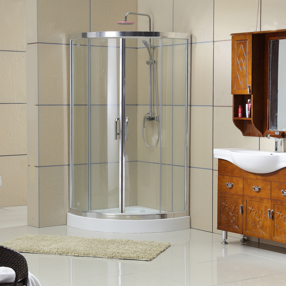 Wholesale Aluminium alloy Full tempered glass italian steam shower cabin KDS-D1070