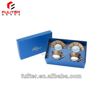 China Alibaba custom tea cup and saucer box for gift