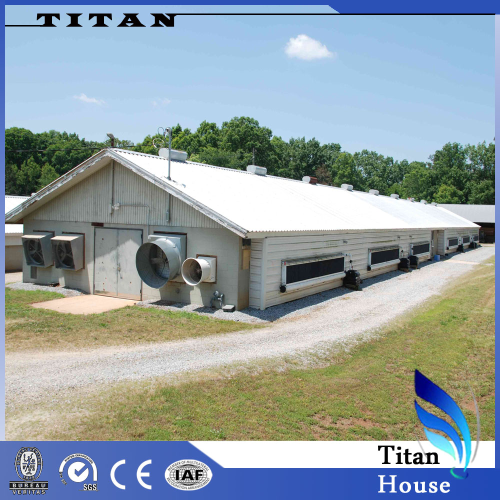 Prefabricated Poultry Farm House