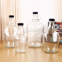 1 Gallon Growler Glass Water Jug With Lid
