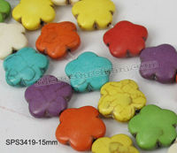 Hot sales turquoise flower stone in stock