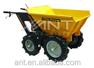 cheap and portable palm tractor,oil palm harvester.gas wheel barrow/barrow wheel with extension side