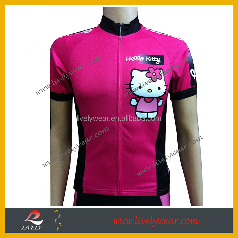Livelywear--100% polyester*Coolmax Road Bicycle Clothing with Club Cut for Events 2017 cycling clothes