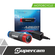 Supercam A260 Clown Edition Full HD Motorcycle Dashcam with Charger for Motorcycle Accessories