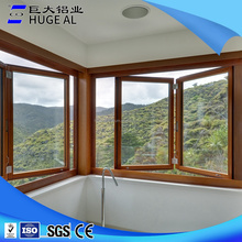 2016 latest window design aluminum accordion windows