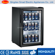 Energy drinks Beer bottle mini display fridge, display refriegerator showcase