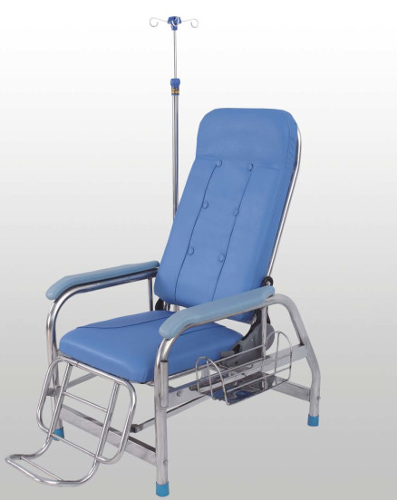 D03-1 Stainless steel transfusion chair