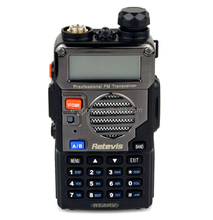 The cheapest 5W 128CH FM Retevis Ham UHF VHF Dual Band two way radio RT-5RV similar bf-uv5r